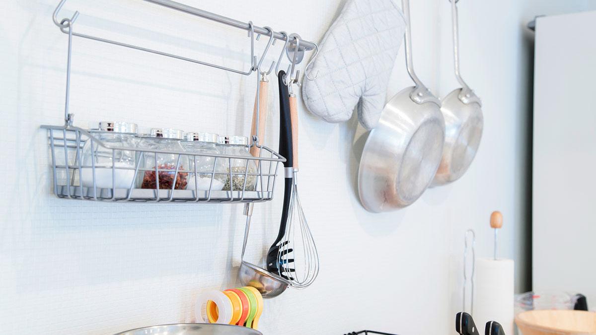 キッチンツール収納は動線が重要!使いやすさを優先した収納に