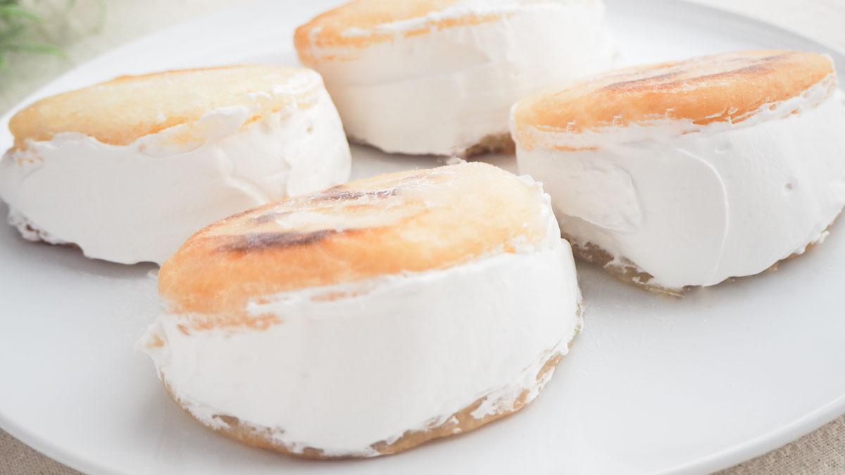 インパクト大!! 豆乳クリームドーナツ #アレルギーフリー生活