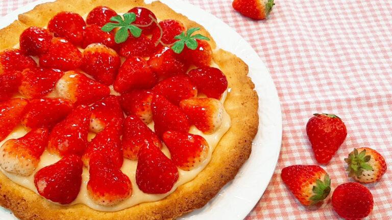 フレッシュな美味しさ!苺カスタードタルトのレシピ