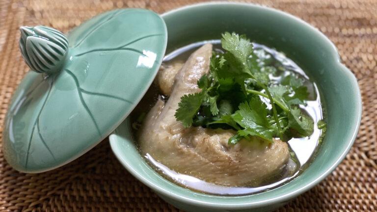 生姜と手羽先のぽかぽかスープ!タイの「トムソムピークガイ」のレシピ #世界の料理