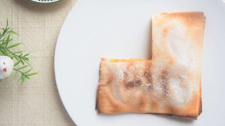 米粉の皮を活用!グルテンフリーアップルパイ#アレルギーフリー生活