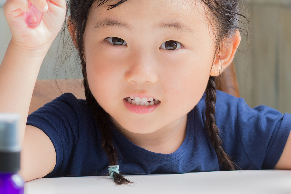 子どもが歯ぎしりをする理由