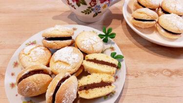 さくほろ食感!上品で懐かしいお菓子、チョコブッセのレシピ
