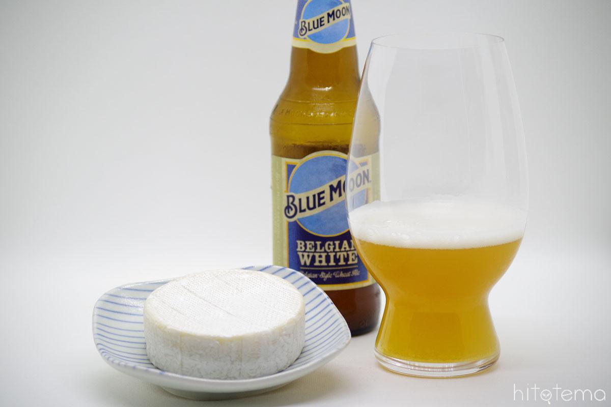 クラッカーとベルジャンホワイトは小麦が通底。