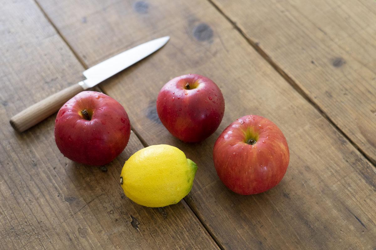 果物とナイフ