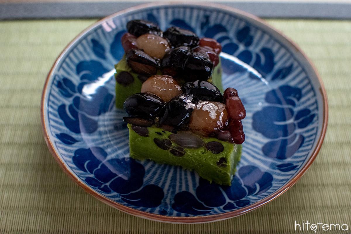 ホワイトチョコレートと抹茶の絶妙な口溶け。Chocolat BEL AMER 京都別邸の「ショコラテリーヌ 抹茶」