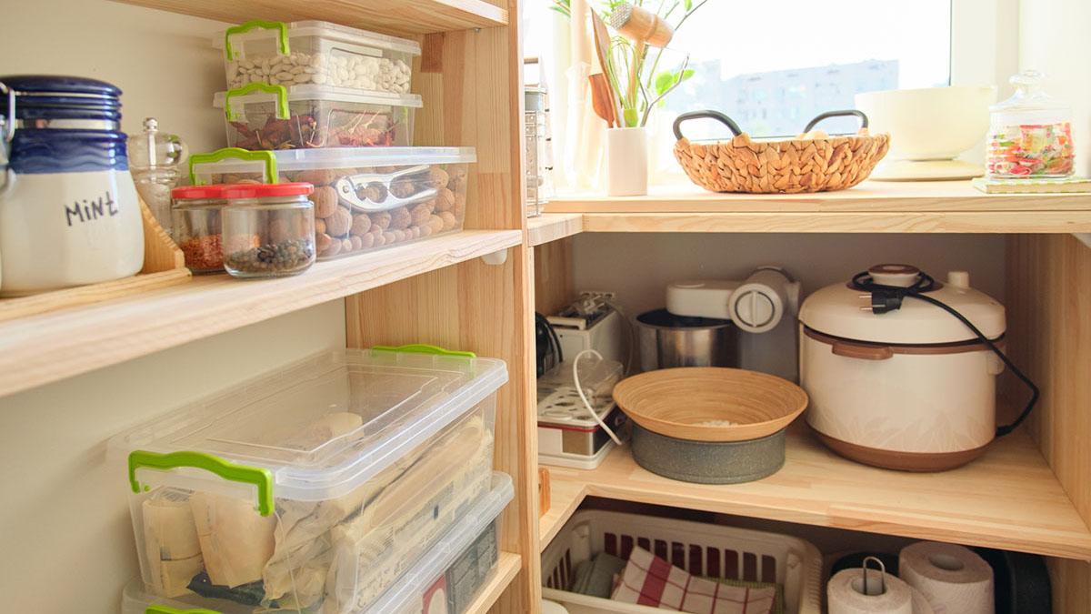 憧れのキッチンパントリーの間取りとアイディア#心地よい住まい