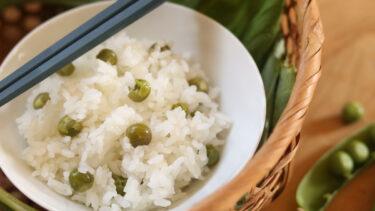 農家の豆ご飯は手抜きです。 #ホマレ姉さんのレシピ