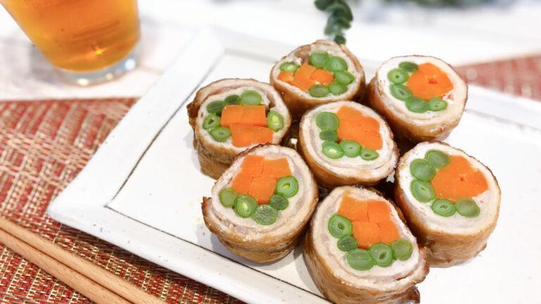 【野菜の肉巻きのレシピ】お弁当のおかずにもおすすめ! #昭和ごはん