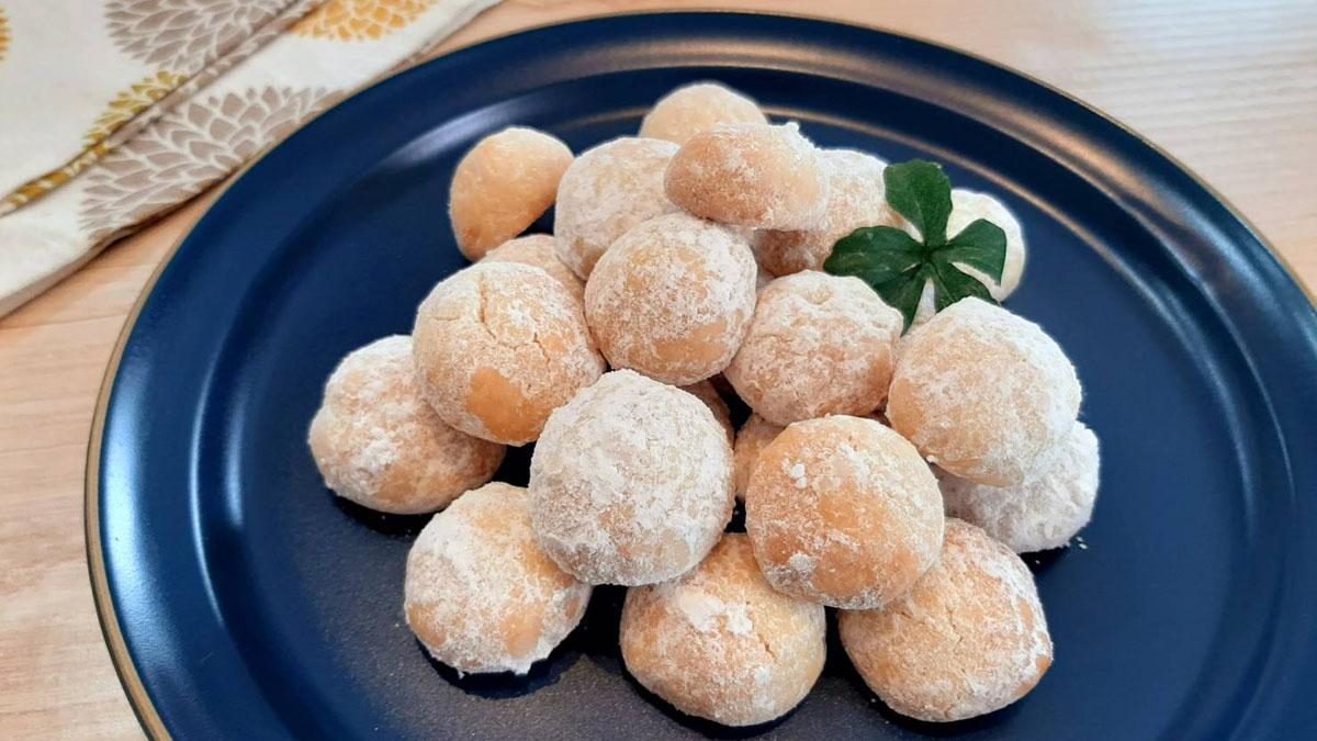 無印良品のブルードネージュ風!さくほろ食感のスノーボールのレシピ