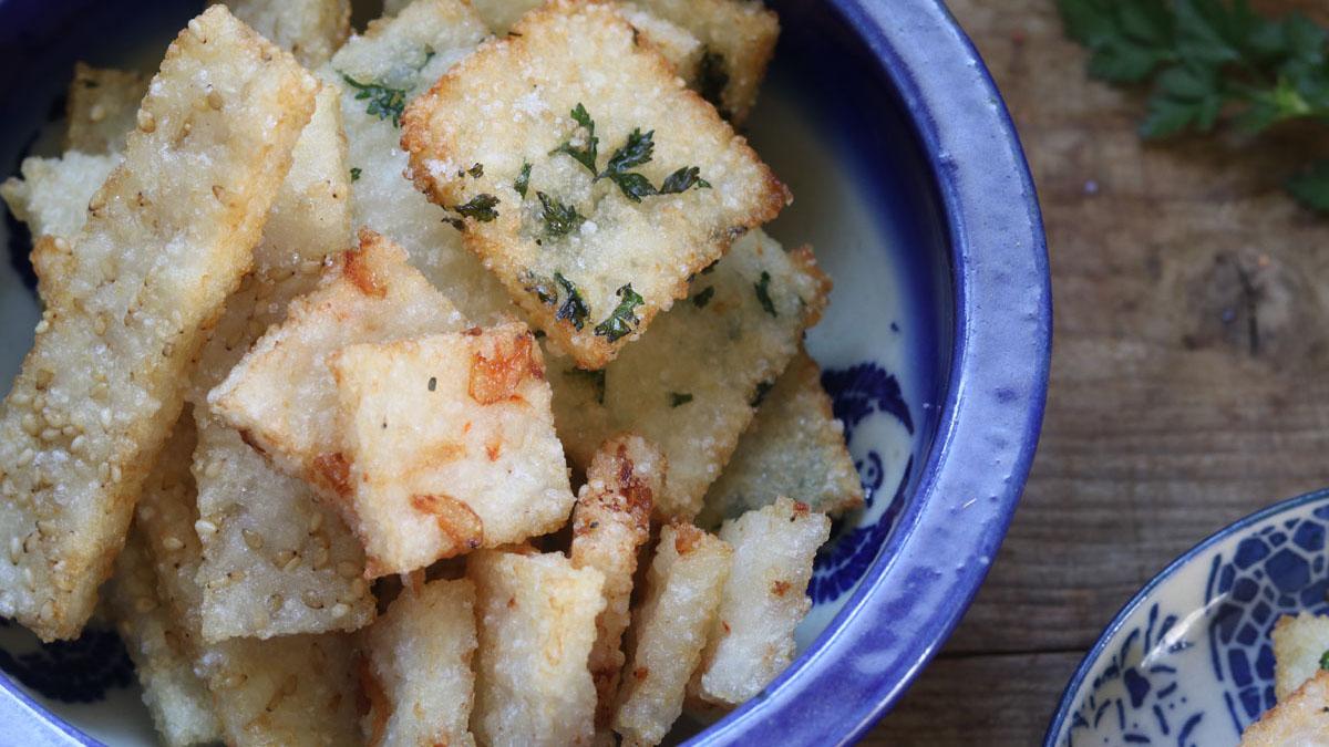 残りご飯で作る「ご飯せんべい」 #ホマレ姉さんのレシピ