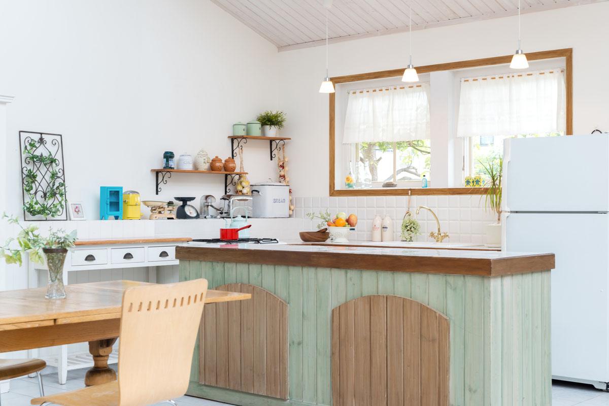 かわいいキッチン