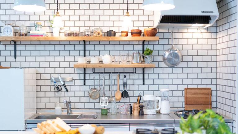「カフェ風キッチン」の作り方。シンプルにまとめて素敵に見せよう #心地よい住まい