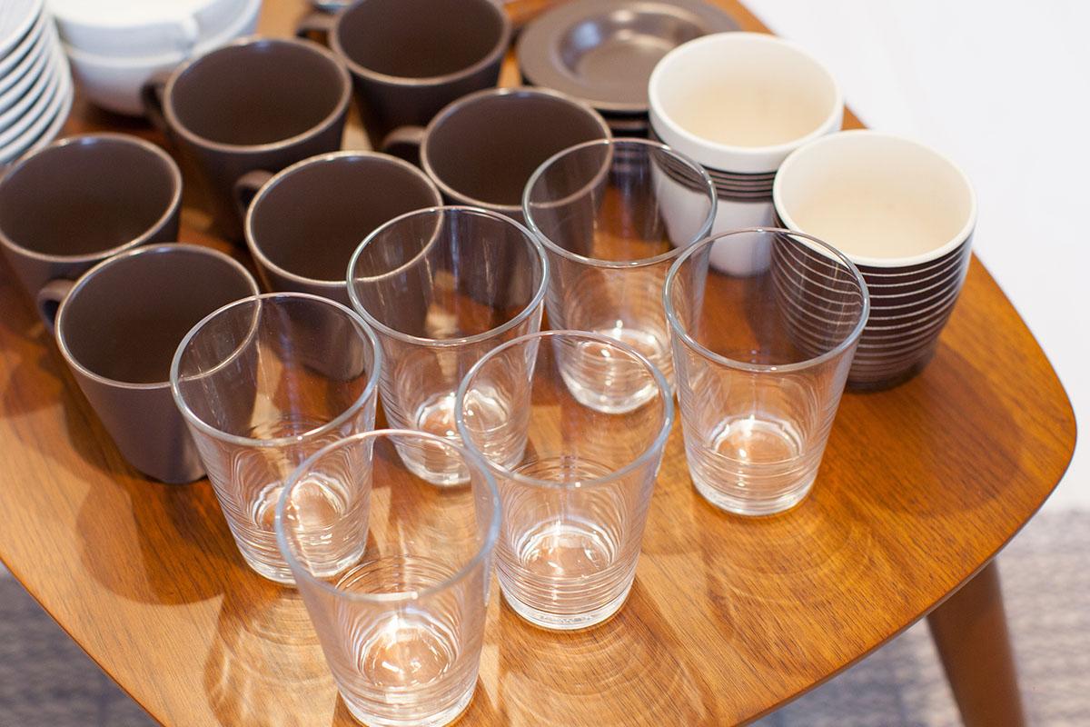 グラス収納を考える前にまずは「整理」を