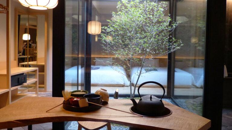 """「アゴーラ 京都四条/烏丸」2ホテルがグランドオープン!""""茶邸に泊まる""""体験を"""