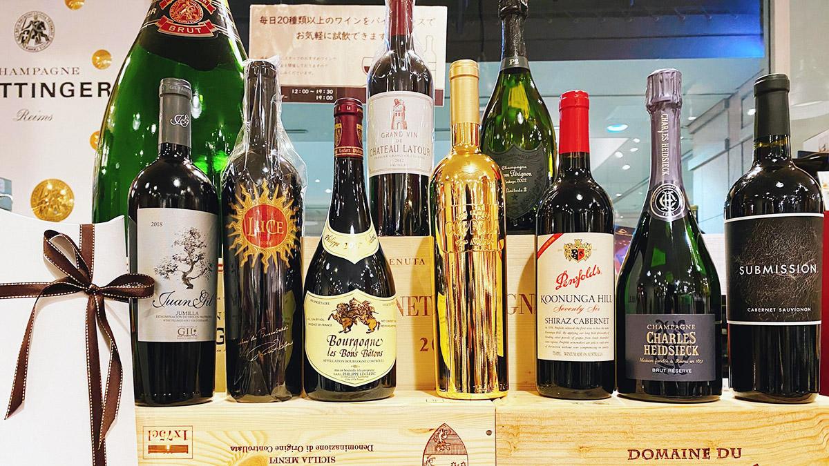 恵比寿のワインマーケットパーティー&ラ・ヴィネ。ソムリエも納得の品揃え!
