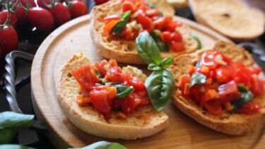 ブルスケッタは簡単・シンプルの極み!素材の美味を引き出すための真髄とは?#イタリアからのレシピ直行便