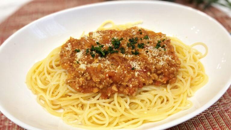 ミートソースの簡単アレンジレシピ!定番パスタ+美味しい3種をご紹介