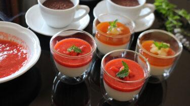 ベーシックなパンナコッタと3種のソース #イタリアからのレシピ直行便
