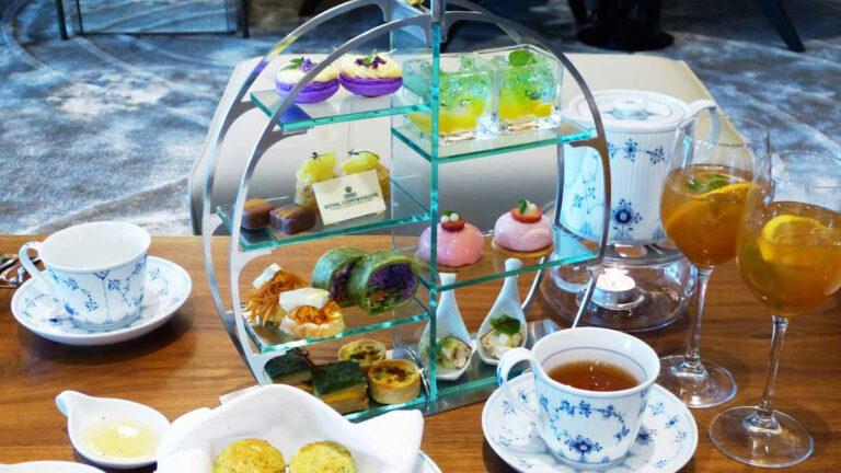 JWマリオット・ホテル奈良でアフタヌーンティーを!五感で味わうティータイム