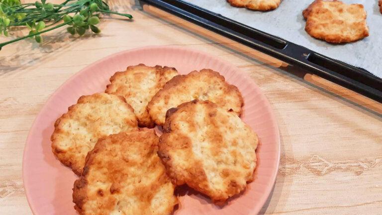 簡単でおいしい!オートミールとはちみつのバナナクッキーレシピ