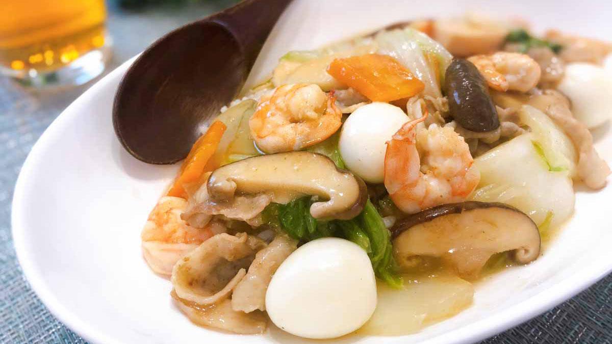 具だくさんの中華丼のレシピ!八宝菜と何が違う? #昭和ごはん