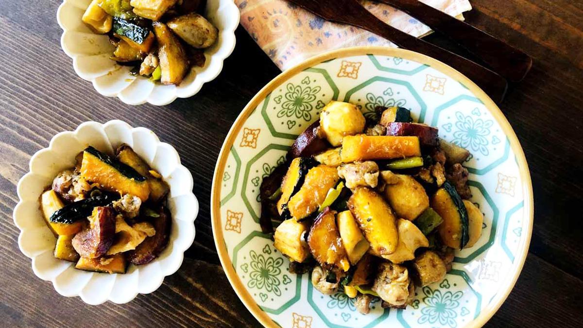 五香粉が決め手!根菜類の中華風炒め煮のレシピ #ハーブとスパイスの教科書