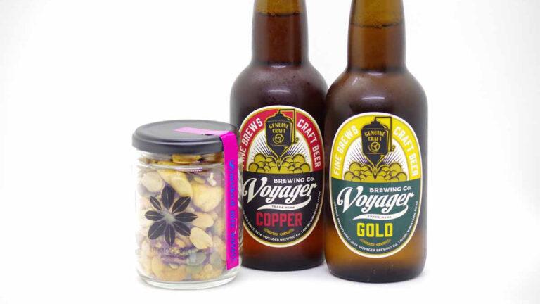 【和歌山・ボイジャーブルーイングのお取り寄せ】スモークナッツと王道ビールの正解ペアリング
