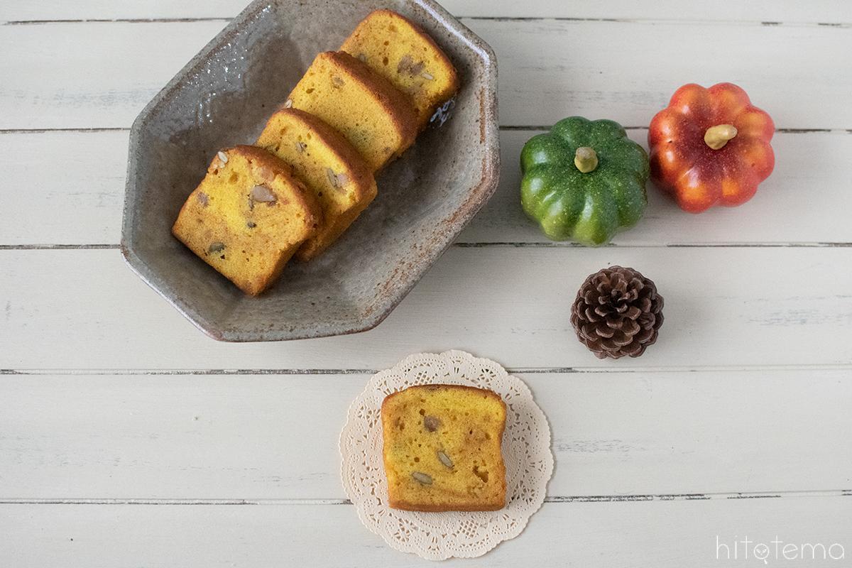 間違いのない味の組み合わせ。フランス菓子レ・ドゥーの「上越産バナナかぼちゃとキャラメルのパウンドケーキ」