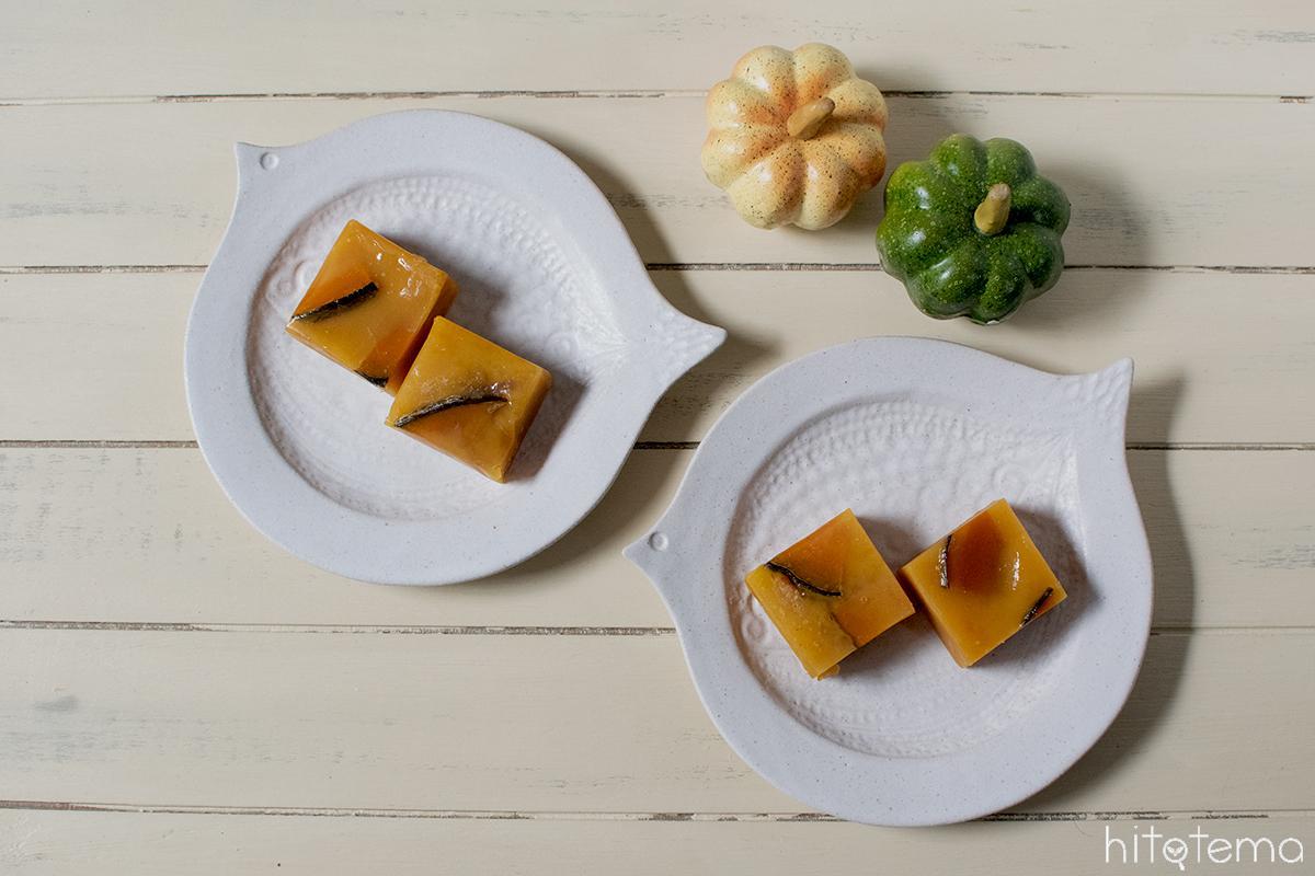 和と洋のミックスが新鮮。御菓子司つちや本舗の「かぼちゃ蒸しようかん」